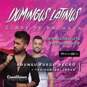 Clase de Bachata Gratis / Domingos Latinos