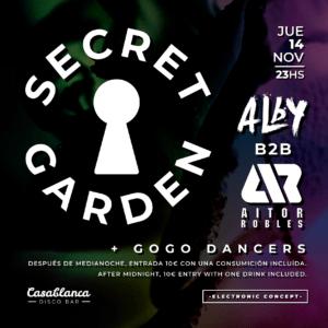 Secret Garden / Alby b2b Aitor Robles