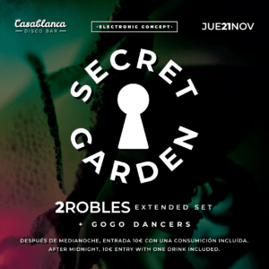 Secret Garden / 2ROBLES extended set